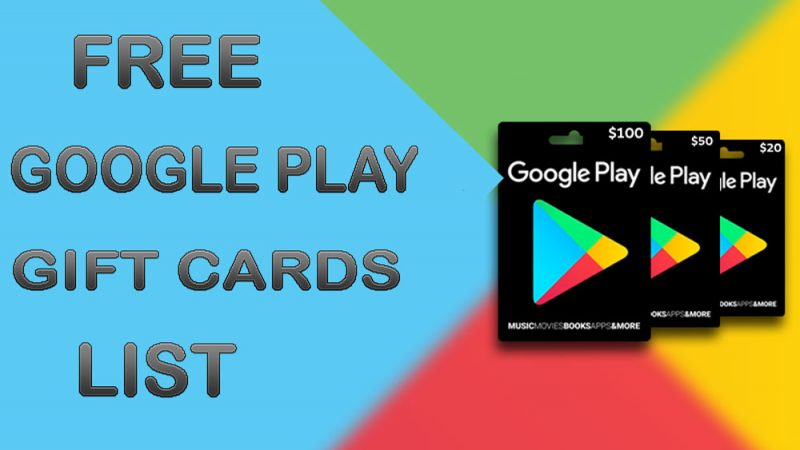 Tips About Free Google Play Gift Cards